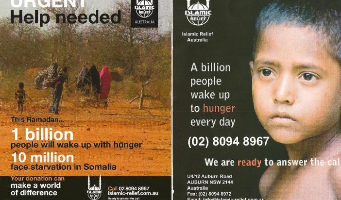 Islamic Relief Somalia donations drive